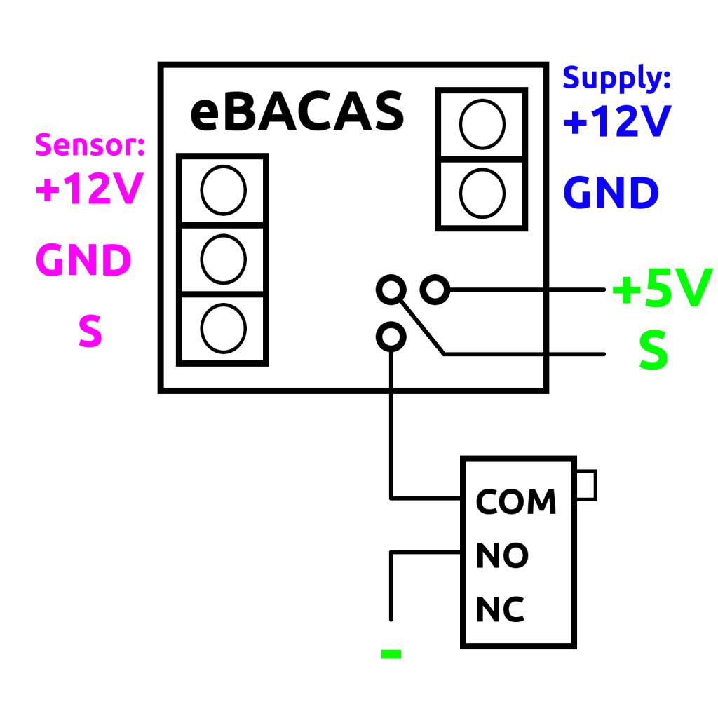 Wiring Diagram of BACAS