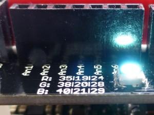 Analog PINs and RGB LED