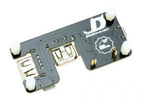 Bottom view of the USB SHOE v1.2