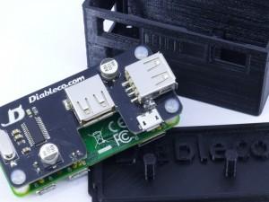 USB SHOE Prototype with its 3D case