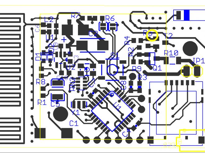 Sample of a designed board