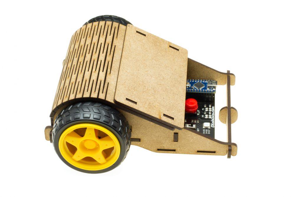 Caparrucia Robot: Side View